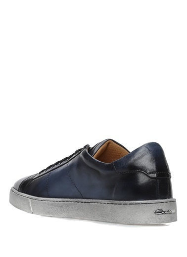 Santoni Lifestyle Ayakkabı Lacivert